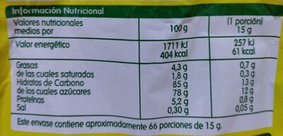 Cacao instantáneo - Nutrition facts