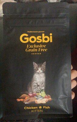Gosbi grain free chicken&fish - Product - es