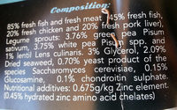 fish sticks - Ingrédients