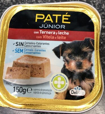 Comida para perros pate - Product - es