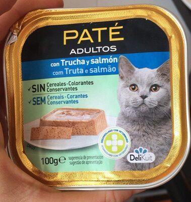 Pate adultos gatos - Product - es