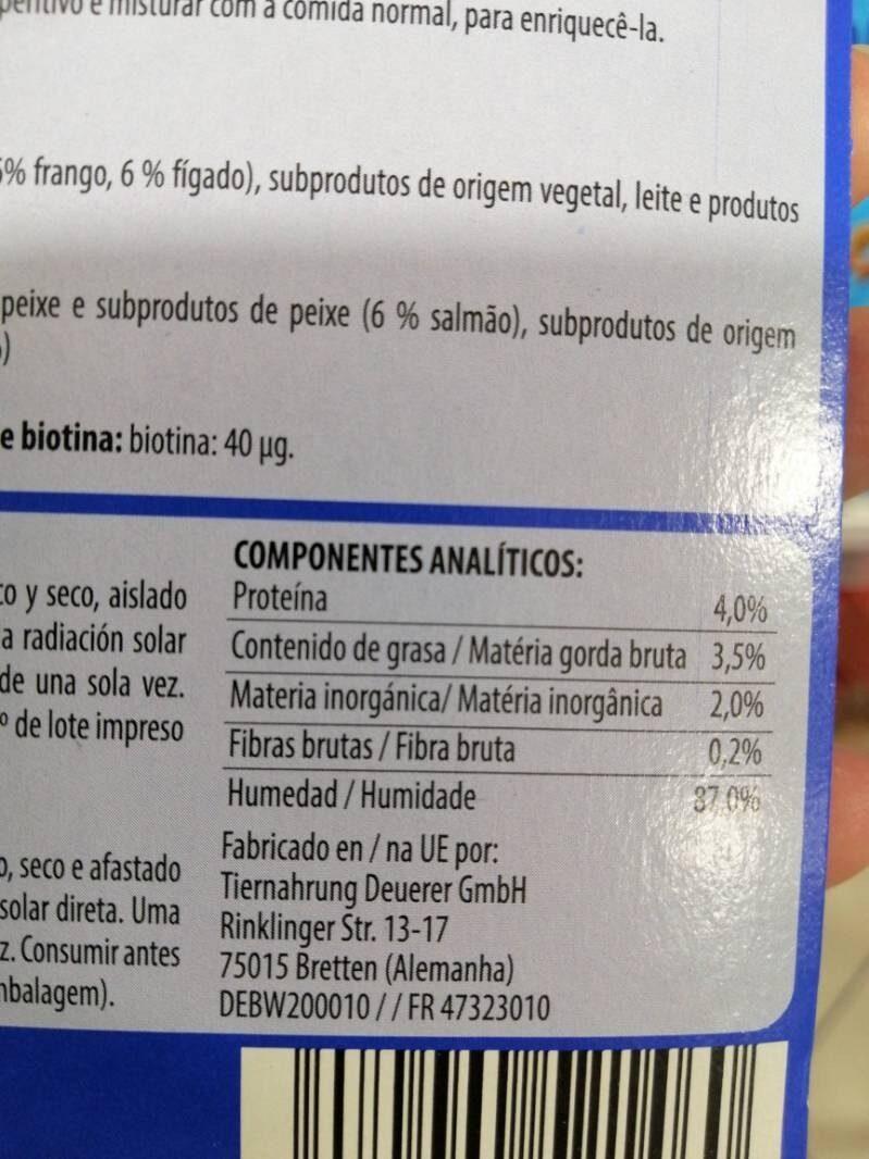 Aperitivo líquido - Nutrition facts - es