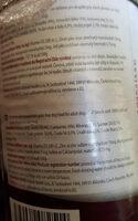 Calibra - Ingredients