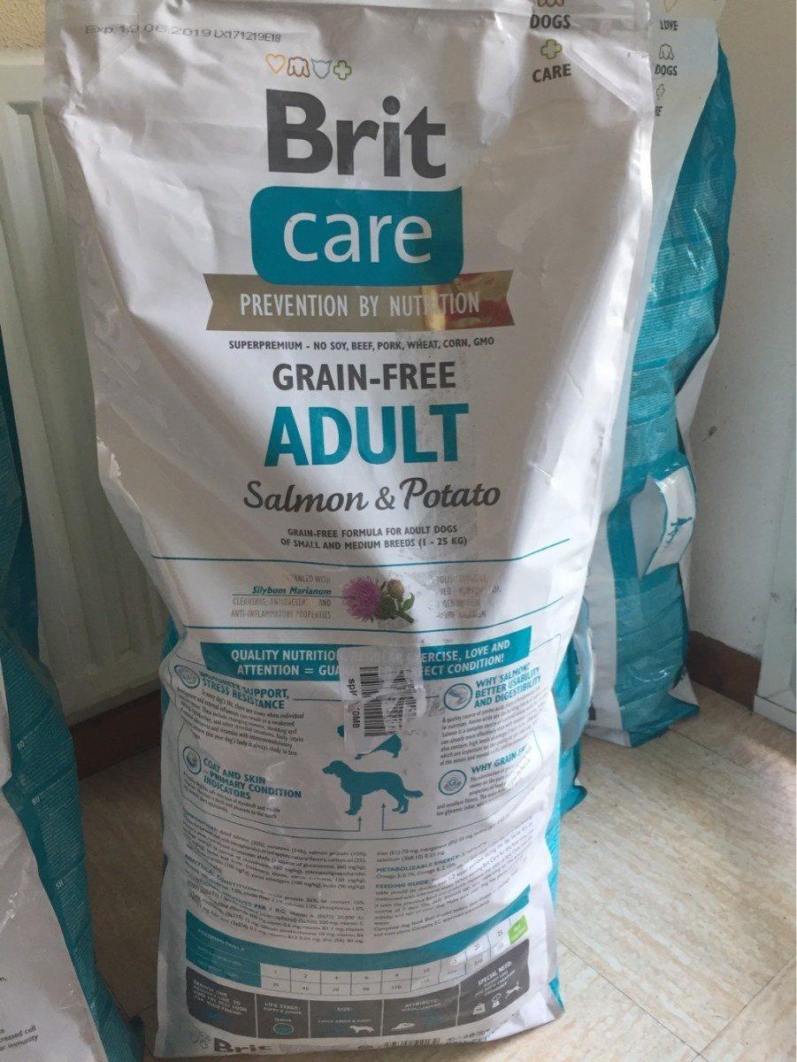 Brit Grain-free Adult Au Saumon Et à La Pomme De Terre - Produit - fr