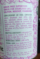 Brit Care Superfruits Salmon - Ingredients