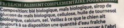 500G Biscuits Vegetariens - Ingredients - fr
