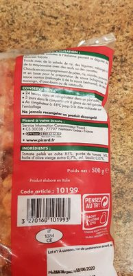 cubes de tomates à l italienne - Ingredients