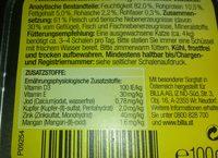 Feine Terrine (Geflügel) - Nutrition facts