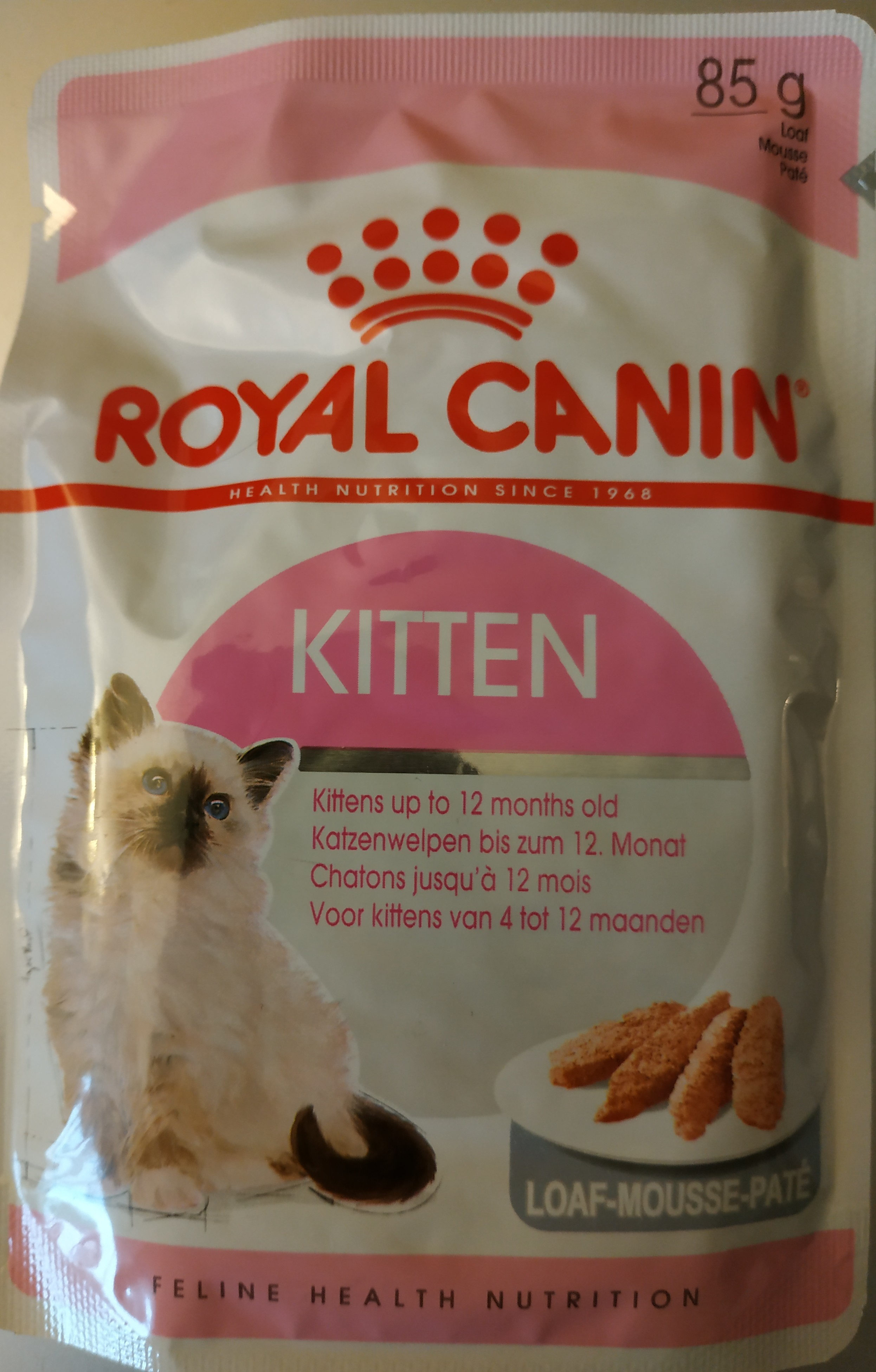 royal canin kitten mousse - Product - fr