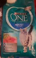 PURINA ONE Adult Cat Food with Salmon and Tuna - Product - en