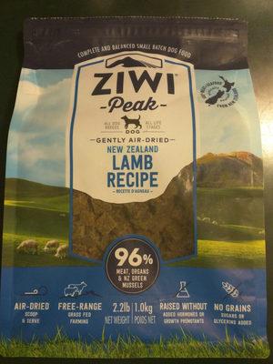 Lamb recipe - Product